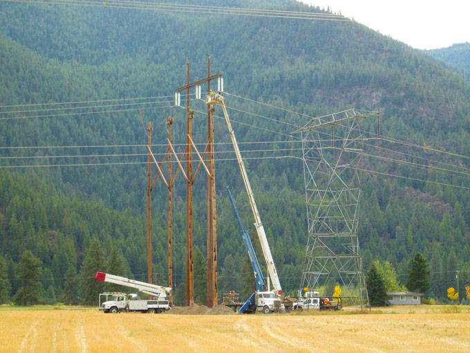 Transmission | Mountain Power Construction